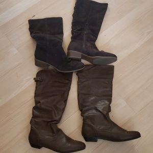 none Shoes - Brown Boot Bundle Size 8.5